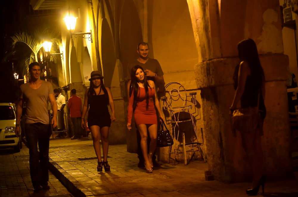 Prostitutes in Cartagena